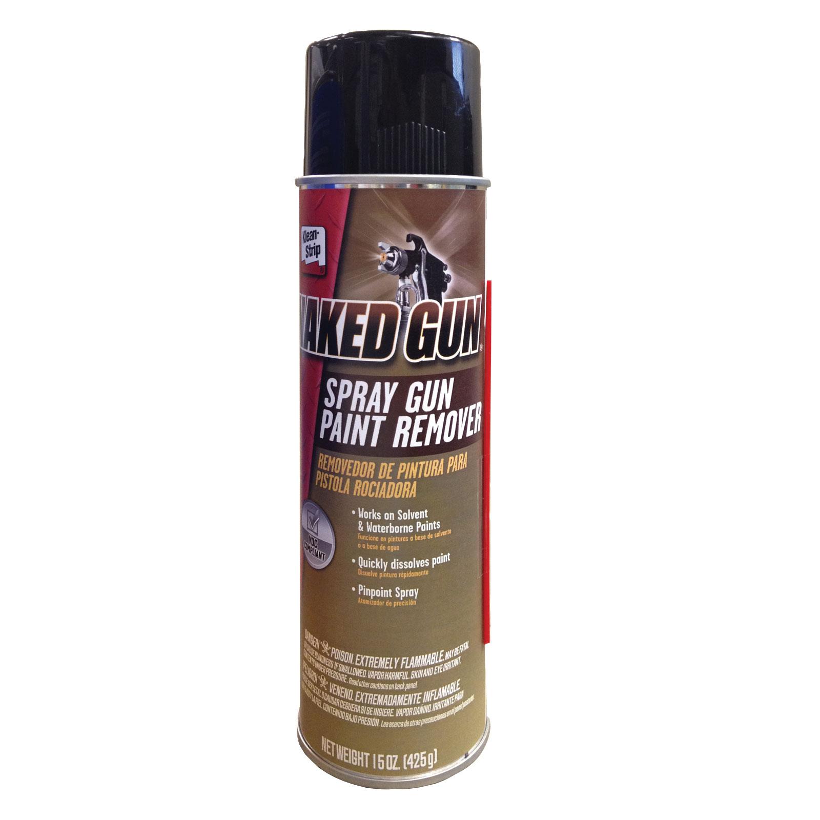 Klean-Strip Naked Gun Cleaner, Aerosol, 15-oz, Pt